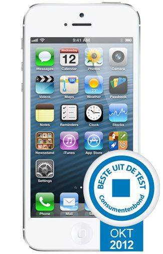 Goedkope Apple iPhone 5 32GB Wit Aanbiedingen met Abonnement