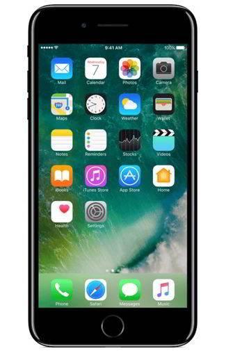Goedkope Apple iPhone 7 Plus 256GB Jet Black Aanbiedingen met Abonnement