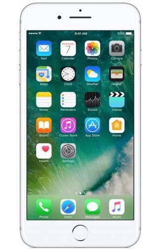 Goedkope Apple iPhone 7 Plus 256GB Zilver Aanbiedingen met Abonnement