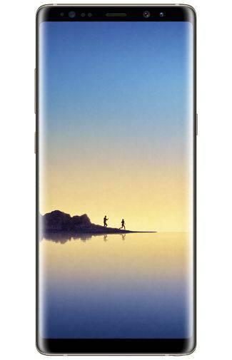 Goedkope Samsung Galaxy Note 8 Goud Aanbiedingen met Abonnement